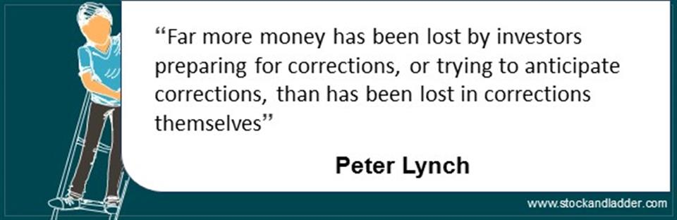 Peter lynch investing quote market corrections