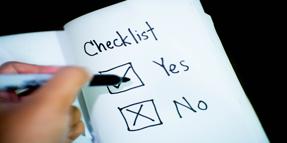 stock investing checklist