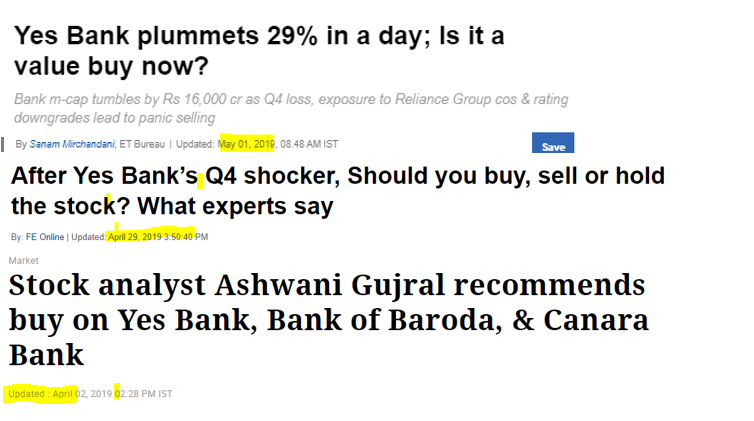 Yes Bank Analyst reco